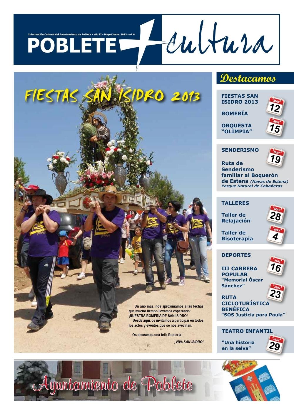 Portada de la revista Mayo 2013
